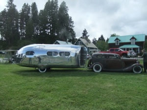30's Bowlus and  chopped coupe