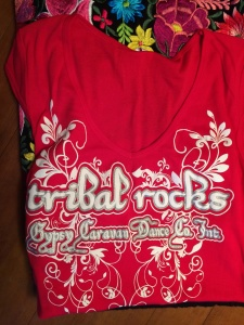 Tribal Rocks T in Red