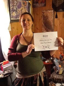 Angie Wimmer CS1 certificate