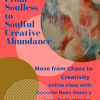 From Soulless to Soulful Creative Abundance!